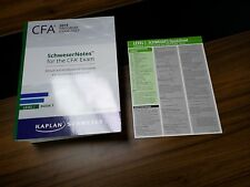 2019 CFA Level 1 Kaplan Schweser Notes (Study Notes, Exams and Quick Sheet)