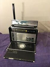 Serviced Zenith 11 Band Trans Oceanic Ham Radio Royal D7000Y Transistor W/Charts