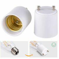 1-2X GU 24 To E 27 Adapter Converter Lamp Holder Base Socket For LED Light Bulbs