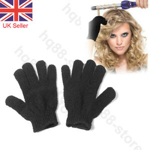 2pcs Heat Resistant Gloves Curling Protective Heat Proof for Hair Straightener