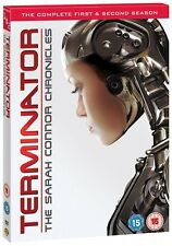 TERMINATOR: THE SARAH CONNOR CHRONICLES 1+2 2008: COMPLETE Series  R2 DVD not US