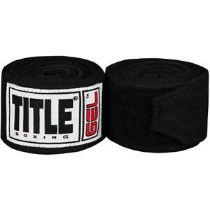 Title Gel Iron Fist Wraps - Black