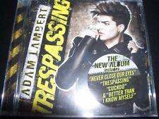 Adam Lambert Trespassing CD - New