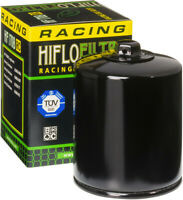HifloFiltro Replacement Motorcycle Racing Oil Filter (Black) HF170BRC