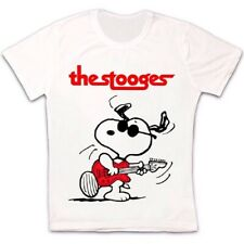 Snoopy Iggy Pop The Stooges Rock Band Music Vintage Gift Unisex T Shirt 2717