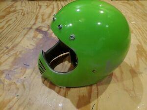 1980 Bell Moto Sar 3 Helmet 7-1/4 Green