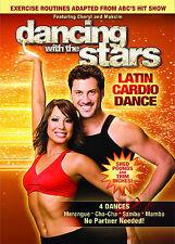 DANCING WITH THE STARS DVD_LATIN CARDIO DANCE DVD / Region 1