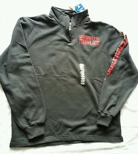 Maryland Terrapins Men's Size Large Adidas 1/4 Zip Pullover