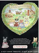 Publicité Advertising 1990 Les Jeux Jouets les familles Sylvania