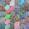 SALE New Polycotton Fabric Florals, Stripes, Bears,Children and Many More Prints