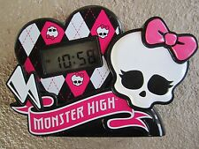 Monster High Love Alarm Clock Radio (50148) (Discontinued By Manufacturer) RARE