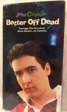 Sealed Better Off Dead John Cusack 1985 Teen Cult Classic (Vhs, 2000) Paramount