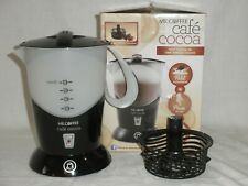 New listing Mr. Coffee Cafe Cocoa Bvmc-Hc5 Hot Chocolate Maker Electric With Box & Basket