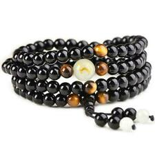 Sleep Aid Magnetic Therapy Obsidian Bracelet Original Shipping Fast C9L7