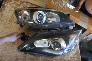 JDM Subaru Impreza wrx sti GH2 GH7 GVB GRB v10 version headlights ver hid 07-14'