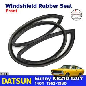 Windshield Rubber Seal Weatherstrip Front Fits Datsun Sunny KB210 120Y 2D Coupe