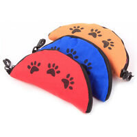 Foldable Portable Dog Water Food Bowl Pet Dog Cat Travel Dish Collapsible ~.