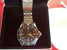 Watch Zodiac ladies Professional 200 Meter Red Dot Divers Vintage