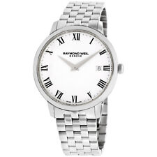 Raymond Weil Toccata White Dial Stainless Steel Men's Watch 5588-St-00300