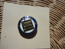 VINTAGE Canadian National Railways Safety Committee Pin Badge Birks Montreal
