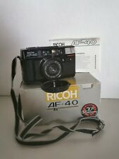 Ricoh Af-40 35mm Film Camera Point And Shoot with 38mm f2.8 Lens D4