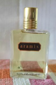 ARAMIS MEN COLOGNE 4.1 OZ / 120 ML AFTER SHAVE NEW UNBOXED GLASS SPLASH BOTTLE