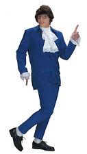 Deluxe Austin Powers Adult Mens 60s Halloween Fancy Dress Suit Costume Party STD