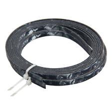 2 * Negro Perla Celuloide filete de tira de Unión de guitarra acústica 5 ft (approx. 1.52 m) 4mmx1.5mm