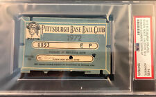 1972 Roberto Clemente 3000 Hit/Full PSA Pass At Pittsburgh Pirates Ex Vs Mets