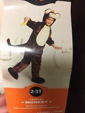 Toddler Monkey Jumpsuit Costume, Size 2-3t Toddler, Hyde and EEK
