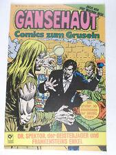 GÄNSEHAUT Comics zum Gruseln Heft # 5 ( Condor Verlag 1981 )