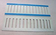 Rittal Lüftungsgitter (P1240/36)  (320 x 100 x 2mm) mit Klebestreifen NEU