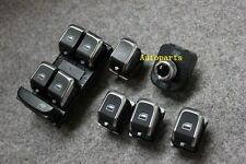 Chrome Master Window Mirror Trunk Switch Button For Audi A4 S4 B8 Q5 A5