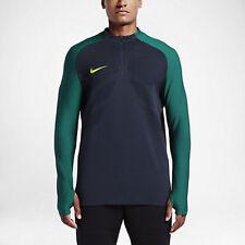 Nike Strike Aeroswift 1/4 Zip Soccer Drill Top 807034-451 Obsidian sz Large