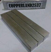 3 Pc 1 X 1 X 8 Long New 6061 Solid Aluminum Plate Flat Bar Tool Block
