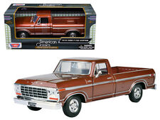 1979 Ford F-150 Pickup Truck Brown 1:24 Diecast American Classic Model 79346BR