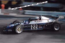 9x6 Photograph Elio De Angelis  F3 Trivellato Chevron B38   Monaco GP 1977