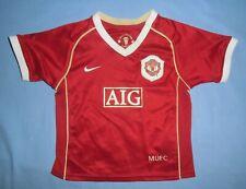 MANCHESTER UTD / 2006-2007 Home - NIKE - KIDS Shirt / Jersey. 12-18 mo, 80-86 cm