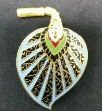 Fan Brooch Eygptian Style Leaf