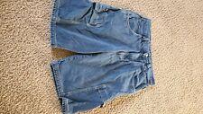 Vintage FUBU The Collection Mens Cargo Hip Hop Jean Shorts Size 36