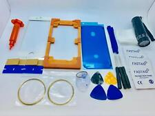 Front Glass, Screen Repair Kit for iPhone 6S Plus White, Glue, UV Torch, Mould