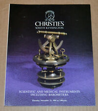 Christie'S Scientific and Medical Instruments including Barometers