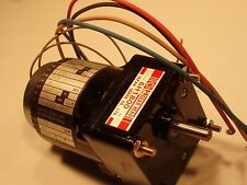 B&B Motors electric gearmotor IHT6P3 / OR253193 115V Japan Servo Gearhead 6H1800
