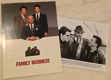FAMILY BUSINESS (1989) Press Kit Folder, Photos; Sean Connery, Dustin Hoffman