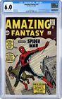 Amazing Fantasy #15 CGC 6.0 Fine. Origin 1st appearance Spider Man Spiderman