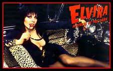 "5"" ELVIRA Hot Rod Pin up girl vinyl sticker. Classic HOT & SEXY curves decal."
