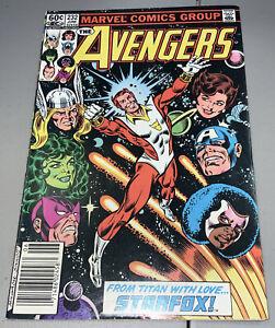 Avengers #232 Marvel 1983 Starfox joins Avengers RARE NEWSTAND Variant