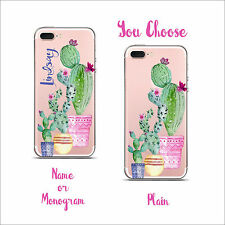 Clear Transparent Cell Phone case  Monogram iPhone X XS Max XR i11 Pro & Max