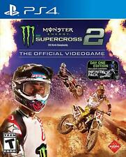 PS4 Monster Energy Supercross 2: The Official Video Game (Sony Playstation 4)