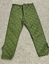 ARMY Liner Extreme Cold Weather Trouser Size 90/94